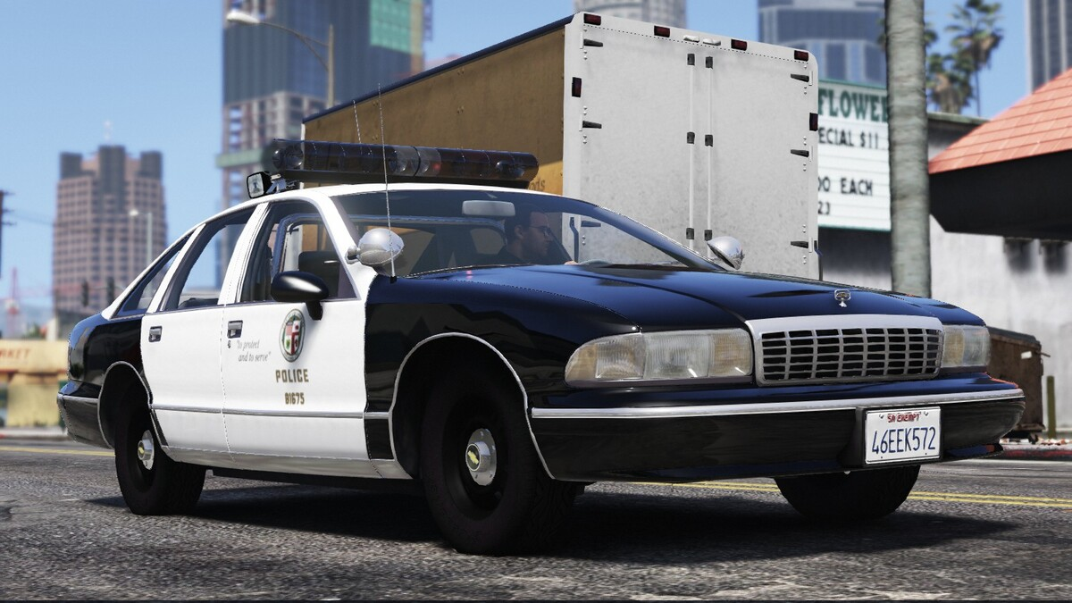 1994 Chevrolet Caprice 9C1 - Los Angeles Police Department