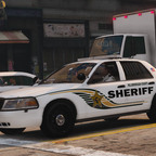Hillsborough County Sheriff Ford Crown Vic by BlackwolfPR Designs