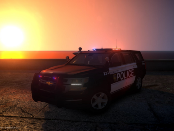 The Local PD Just Got Their New SUV's!